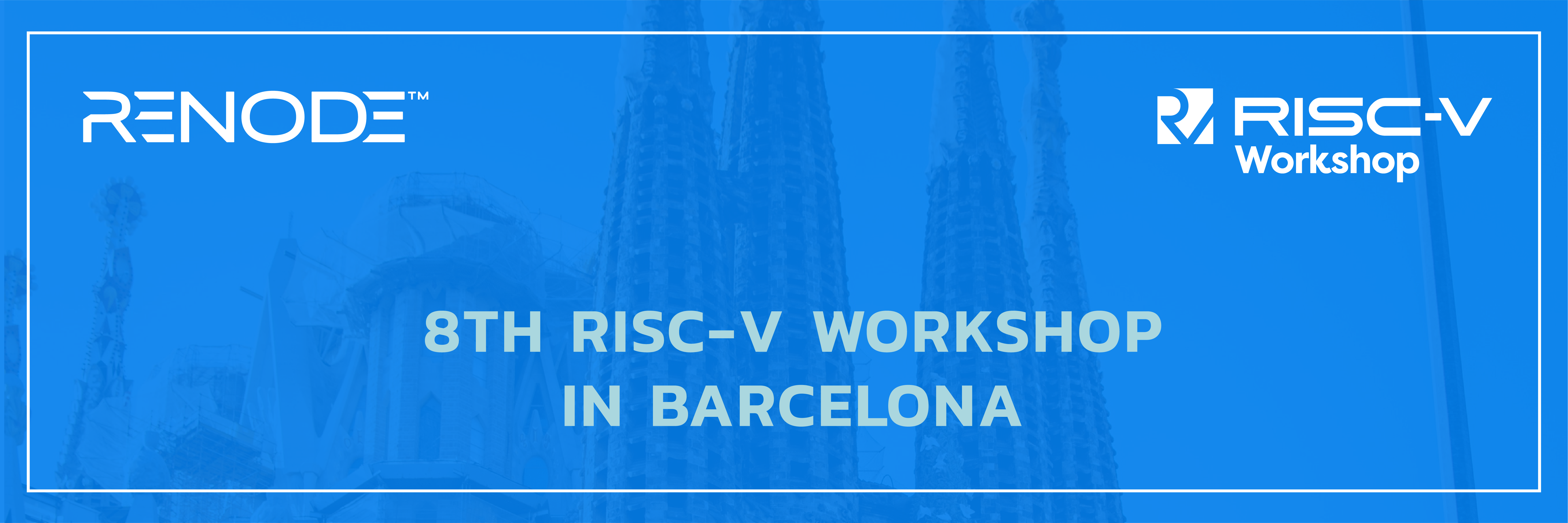64-bit RISC-V support in Renode to be presented at the 8th RISC-V Workshop in Barcelona